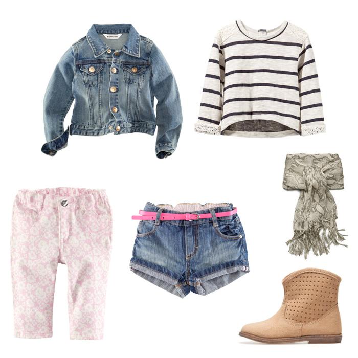 fille_veste-pantalon-shortHM-pull-foulard-bottesZARA