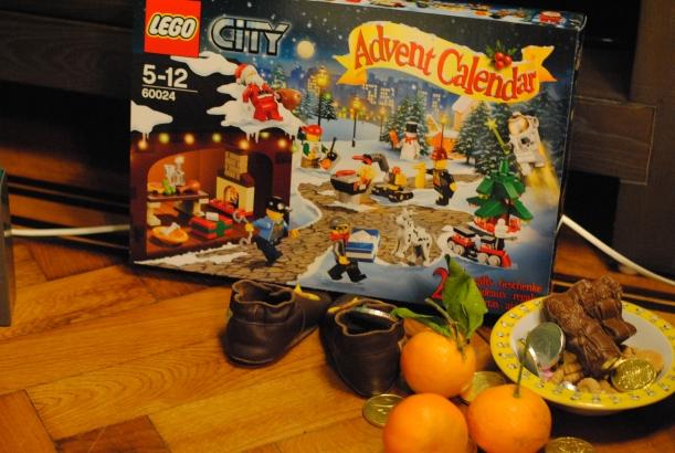 Calendrier de l'Avent LEGO City