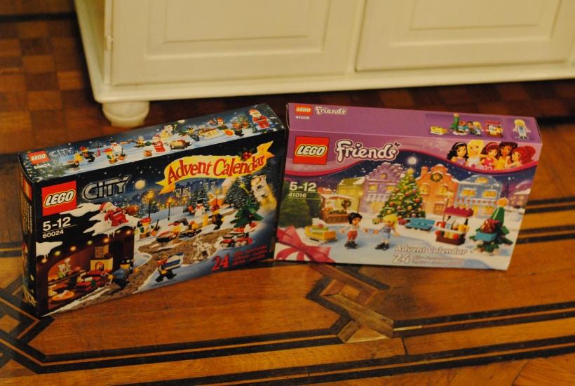 Calendrier de l'Avent LEGO City et LEGO Friends